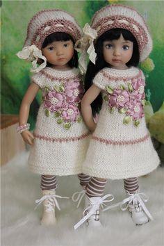 С праздником, дорогие девочки! / Одежда и обувь для кукол - своими руками и не только / Бэйбики. Куклы фото. Одежда для кукол
