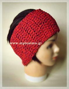 large crochet headband