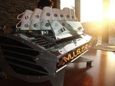La Marzocco Mistral espresso machine. Such a beautiful machine to work on.