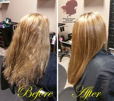 Brazilian Blowout, before and after by:  Hair Stylist Samantha Barela of Uniquely Elegant Salon Spa, Albuquerque, NM 87113 See more at: http://www.uniquelyelegantsalon.com/haircuts-hairstyles-photos-albuquerque/