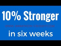 How to get stronger in six weeks Trap Bar Deadlift Session Trap Bar Deadlift, Squats Video, Bench Press, Marathon, Fails, Strong, How To Get, Videos