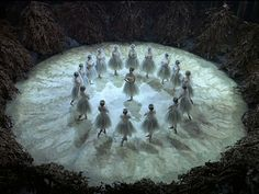 Meeting of the Wilis in Giselle