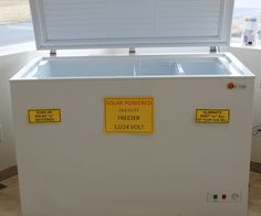Solar freezer. 1500 dollars and a savings of 40-80 dollars a year from grid use.