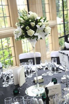 33 best martini glass centerpiece images floral arrangements rh pinterest com giant martini glass wedding centerpieces giant martini glass wedding centerpieces