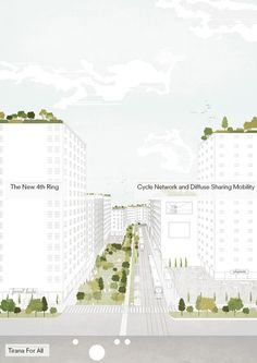 Tirana 2030: Watch How Nature and Urbanism Will Co-Exist in the Albanian Capital,The city aims to be easily accessible for the elderly and very young. Image Courtesy of Attu Studio