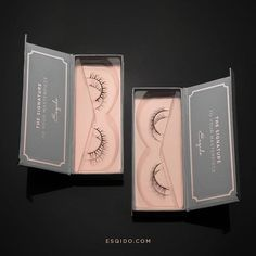 ESQIDO will be there for you through the highs and the lows. Introducing our NEW Lower Lashes, Aerial on the left and Moonlight on the right. Now available on www.esqido.com/shop.