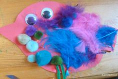 feather bird craft