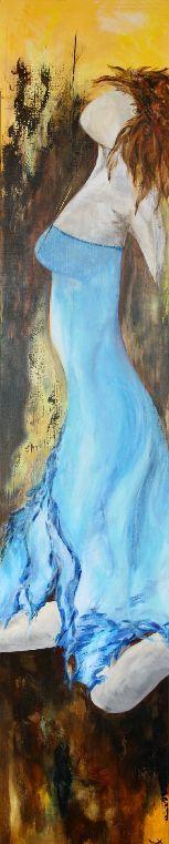 Marijke Vogelaar paintings.....beautiful! Elegance; 200x40