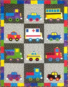 Wheels Quilt Pattern - The Virginia Quilter