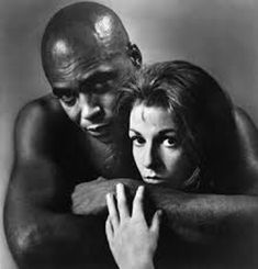 """April James Earl Jones (shown with Jane Alexander) wins Best Actor Tony for """"The Great White Hope"""" Mississippi, Broadway, Earl Jones, Ken Burns, The Great White, Interracial Love, Jack Johnson, Great Films, Actor"""