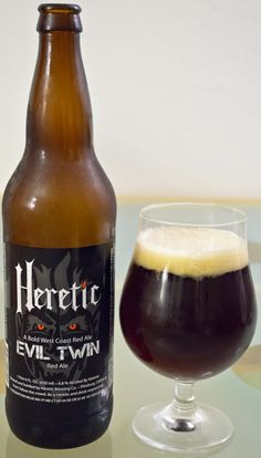 Heretic's Evil Twin - This is really everything good about the American Red Ale style. None of that metallic flavor, and instead, a good malty and hoppy beer. The balance here is really nice and while maybe a bit on the bold side of the style, I am a fan of big and bold beers.
