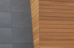 Imgs For > Modern Fiber Cement Siding Panels Exterior Siding Options, Exterior Cladding, Fiber Cement Siding, Wood Siding, Cement Board Siding, Cedar Siding, Shiplap Siding, House Cladding, House Siding