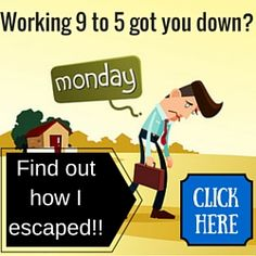 This is how I used to feel every Monday until I changed what I did and started working from home. This is how I did it. http://freeonlineaffiliatecourse.com/walkthrough_benefits