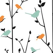 I think I might go with this fabric for the fabric bookshelves in my nursery!