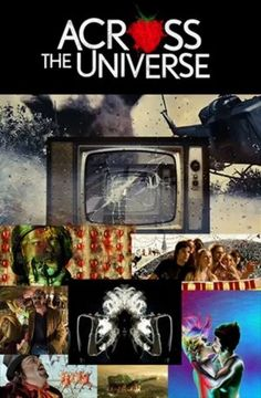 Across the Universe-love this movie Badass Movie, Love Movie, Movie Tv, Across The Universe Beatles, Julie Taymor, Posters Amazon, Film Music Books, Movies Showing, Poster
