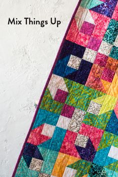 Add fresh color and design to your next quilt with this precut-friendly, beginner quilt kit! #Boundless