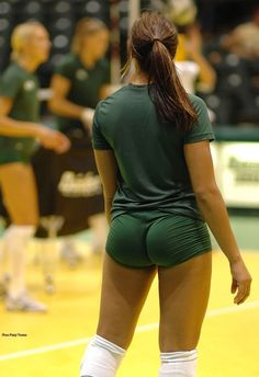 Ass booty butt chearleading cheer cheerleader spandex volleyball