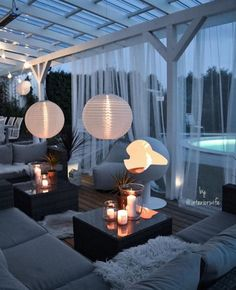 Garten Ideen When ancient in thought, the particular pergola have been enduring somewhat of a Outdoor Spaces, Outdoor Living, Ideas Terraza, Terrace Design, Backyard Landscaping, Pool Backyard, Backyard Lighting, Lights For Backyard, Backyard Patio Designs