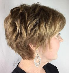 Textured Pixie For Thick Hair