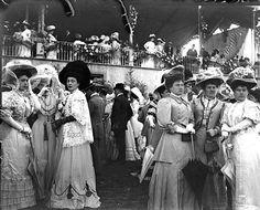 Hipodromo Maroñas ,años 1900, Montevideo, Uruguay.
