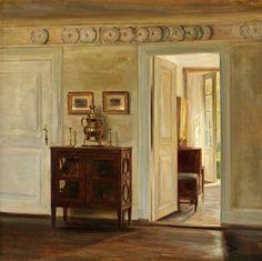 Salon Interior, 1905, Carl Vilhelm Holsøe