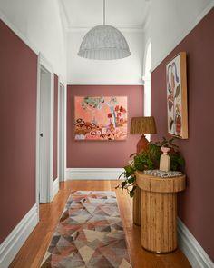 Hallway Colours, Wall Colors, Colour Schemes, Color Trends, Behr Colors, Dulux Color, Deco Cool, Trending Paint Colors, Greenhouse Interiors