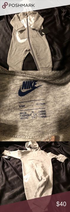 f1e64ba80 Infant Nike onesie Long sleeve one piece nike fit (shoes listed for  inspiration) Nike One Pieces Bodysuits