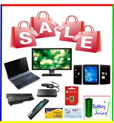 ★We deals in all kind of LAPTOPS,GENUINE ORIGINAL OEM LAPTOP BATTERIES AND ADAPTERS ALL BRANDS & BRAND NEW LCD MONITORS we are the only cheap price seller at EBAY for BRAND NEW LCD monitors....   We offer now Factory iPhone unlock imei code service for iPhone 3,3GS,4,4S and iPhone 5 ...★    Click the link below:  http://stores.ebay.com/Battery-Juice