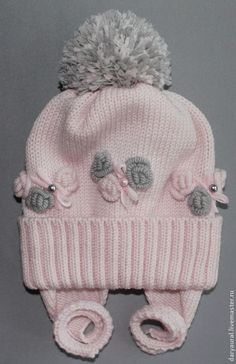 """Photo from album """"конкурс"""" on Baby Knitting Patterns, Baby Hats Knitting, Knitted Hats, Crochet Patterns, Crochet Kids Hats, Easter Crochet, Crochet Girls, Knit Or Crochet, Minis"""