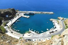 port at chora sfakion Greece, Outdoor Decor, Beautiful, Home, Crete, Greece Country, House, Homes, Houses