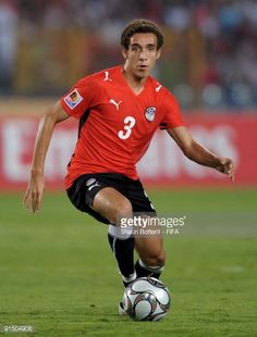 Hesham Mohamed ain action during the FIFA U20 World Cup Round of 16 match between Egypt and Costa Rica at the Cairo International Stadium on October...