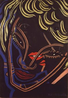 Francis Picabia, Tetes Superposees - 1938 on ArtStack #francis-picabia #art