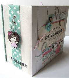 May 2015 DT Swirlcards - Mini Album to Celebrate God Daughter's Birthday by Scrapaurore