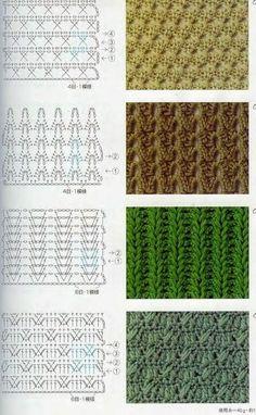 40 free crochet stitches from daisy farm crafts salvabrani – artofit – Artofit Crochet Stitches Chart, Crochet Motifs, Crochet Diagram, Diy Crochet, Knitting Stitches, Crochet Patterns, Le Point, Pattern Books, Crochet Projects