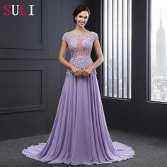Sl2003 Attractive A-line Chiffon Beaded Lace Evening Dress 2016 Photo, Detailed about Sl2003 Attractive A-line Chiffon Beaded Lace Evening Dress 2016 Picture on Alibaba.com.