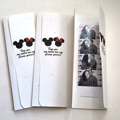 Disney Themed Photo Booth Picture Holder Wedding by MySweetDay, $1.50