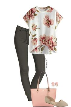 Work Spring — Outfits For Life - Casual Work Outfits Spring Outfit Women, Spring Work Outfits, Casual Work Outfits, Business Casual Outfits, Professional Outfits, Work Casual, Cute Outfits, Business Attire, Casual Summer