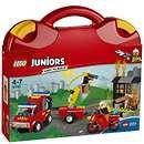Prezzi e Sconti: #Lego juniors: fire patrol suitcase (10740)  ad Euro 21.05 in #Lego #Toys and gifts toys lego