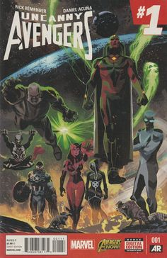Uncanny Avengers # 1 Marvel Now ! Vol 2 ( 2015 )