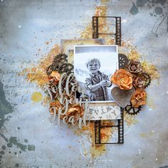 2 Crafty Chipboard : October Inspirations and a VIDEO Tutorial by Catherine Giguère