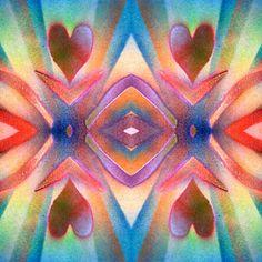 Happy Hearts Solarized Ribbons