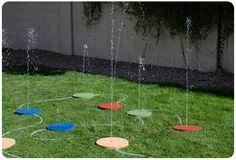 Back Yard Landscape , 10 Fantastic Diy Splash Pad : Diy Splash Pads