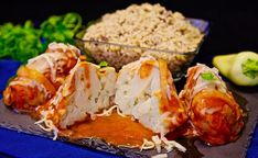 Vegetarian Heaven: Cauliflower Rellenos - Presley's Pantry