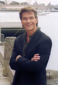 Patrick Swayze.  What can I say...I like a guy who's not afraid to show the world his dance moves.  :)