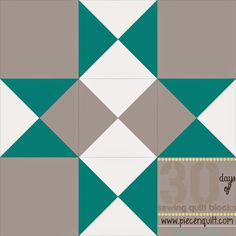 "Piece N Quilt: How to: Midnight Star Quilt Block- 30 Days of Sewing Quilt Blocks- Star Version!...This block will finish at 12""x12"" square."