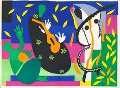 Henri Matisse, The Sorrows of the King on ArtStack #henri-matisse #art