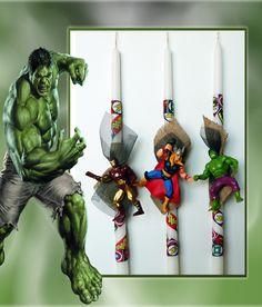 Λαμπάδες Marvel