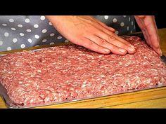 Már 3 napja darálthúsból készítem a vacsorát és sosem ugyanaz a recept!| Cookrate - Magyarország - YouTube Carne Picada, Pork Recipes, Meat, Food, Stuffed Pork Recipes, Entrees, Food Cakes, Ground Meat, Recipe