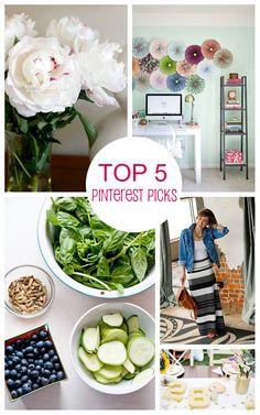 Top 5 Summer Pinterest Picks brightboldbeautiful.com