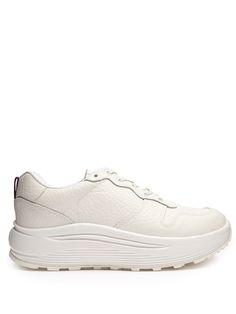 Click here to buy Eytys Jet tumbled-leather low-top trainers at MATCHESFASHION.COM